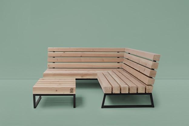 design loungebank van douglas